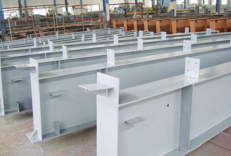 Pre-fabricated, Anti - Seismic Metal / Steel Building Structures for Railway Stations